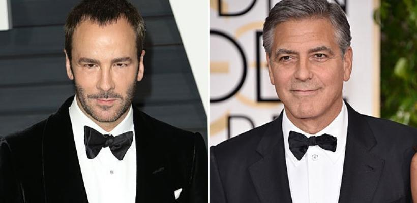 Tom Ford unirá fuerzas con George Clooney.