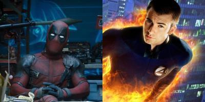 Deadpool 2: Chris Evans pudo aparecer en un cameo como la Antorcha Humana