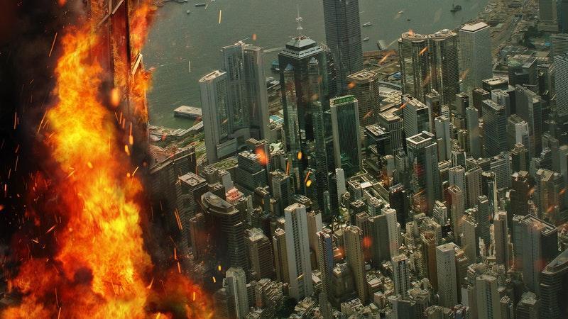 Rascacielos: Rescate en las alturas