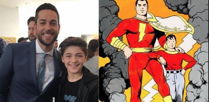 Shazam: revelan la trama de la película y Zachary Levi comparte la primera foto oficial del traje del superhéroe