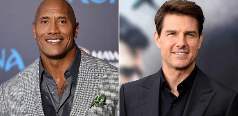 Dwayne Johnson y Tom Cruise quieren colaborar en una película
