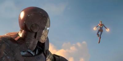 Avengers 4: se filtran nuevas imágenes de Thanos, Capitana Marvel y Ronin