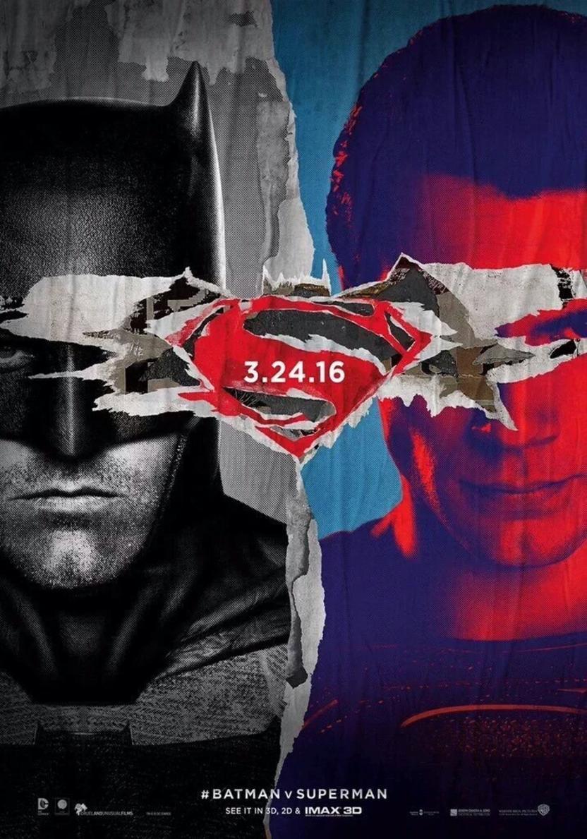 poster de la pelicula batman vs superman