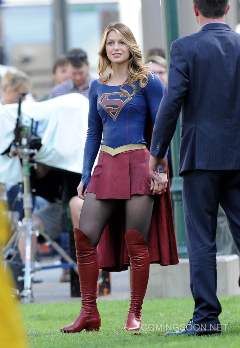 Crossover Supergirl/The Flash Detrás De Cámaras4