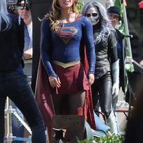 Crossover Supergirl/The Flash Detrás De Cámaras3