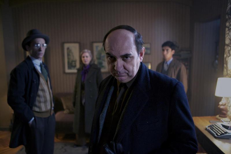 Luis Gnecco en Neruda (Foto: Diego Araya)
