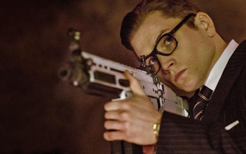 Taron Egerton protagonizó Kingsman: El Servicio Secreto