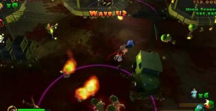 Burn Zombie Burn!: Las armas
