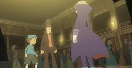 Professor Layton and the Diabolical Box: E3 09: Trailer
