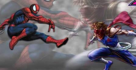 Marvel vs. Capcom 2: Spider-Man vs Strider