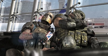 Army of Two: The 40th Day: El aeropuerto