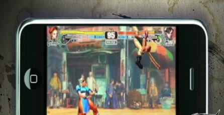 Street Fighter IV: Cammy en iPhone
