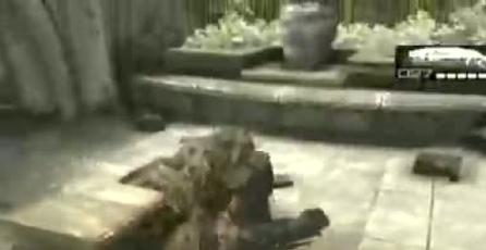 Gears of War 2: Cole escoge una extraña posición para despegar