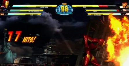 Marvel vs. Capcom 3: Fate of Two Worlds: Comic-Con 2010 Gameplay
