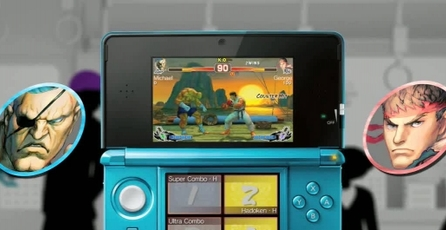 Super Street Fighter IV 3D Edition: Pelea en 3D