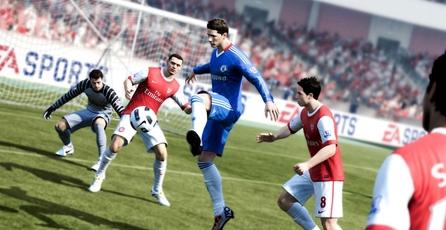 FIFA 12: Sistema de colisiones