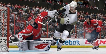 NHL 12: Dinámicas del portero