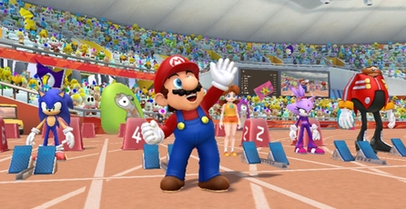 Mario and Sonic at the London 2012 Olympic Games: gamescom trailer