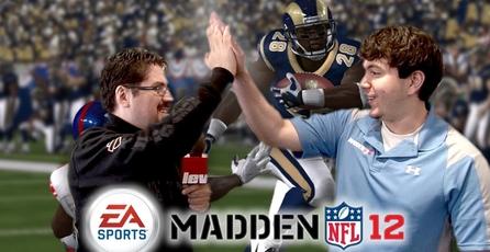 Madden NFL 12: Entrevista a Anthony Dimento