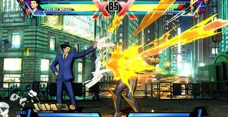 Ultimate Marvel vs Capcom 3: PS Vita Gameplay