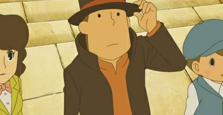Professor Layton and the Mask of Miracle: Llega en 3D