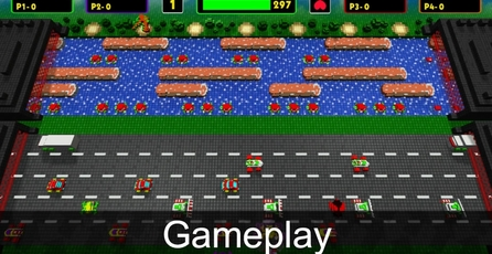 Frogger: Hyper Arcade Edition: Gameplay