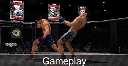 Bellator MMA Onslaught: Gameplay