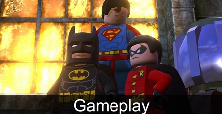 LEGO Batman 2: DC Super Heroes: Gameplay