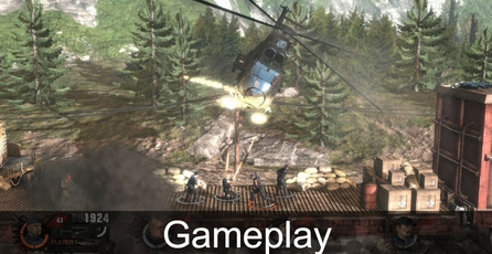 The Expendables 2 Videogame: Gameplay