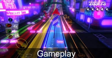 Rock Band Blitz: Gameplay
