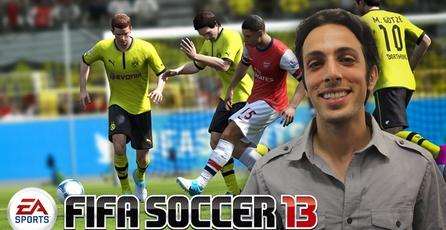 FIFA Soccer 13: Entrevista con el productor de gameplay de FIFA 13
