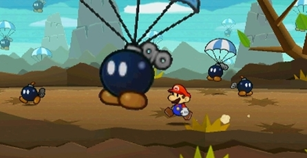 Paper Mario: Sticker Star: Gameplay