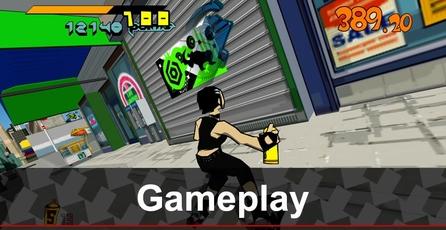 Jet Set Radio HD: Gameplay