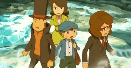 Professor Layton and the Azran Legacy: Más de 500 puzzles