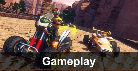 Sonic & All-Stars Racing Transformed: Gameplay