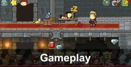 Scribblenauts Unlimited: Gameplay