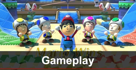Nintendo Land: Gameplay