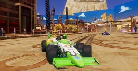 Sonic & All-Stars Racing Transformed: Accidentes