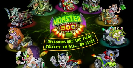 Monster 500: Mini carreras a toda velocidad