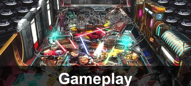 Star Wars Pinball: Gameplay