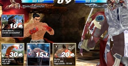 Tekken Card Tournament: Ya disponible