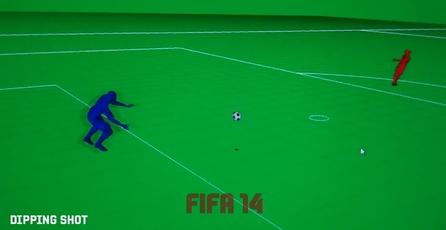 FIFA 14: Física real del balón