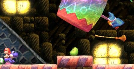 Yoshi´s New Island: Mini juegos presentes