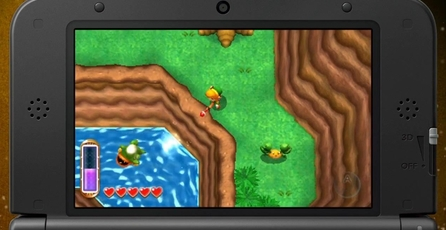 The Legend of Zelda: A Link Between Worlds: Rompe la barrera entre dimensiones