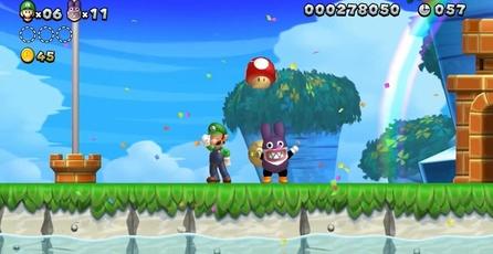 New Super Luigi U: Luigi toma el control