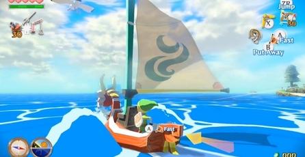 The Legend of Zelda: The Wind Waker HD: Animación de caricatura a 1080p