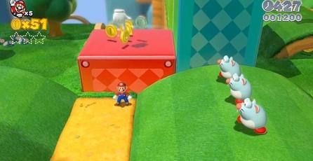Super Mario 3D World: Mario, ahora con traje de gato