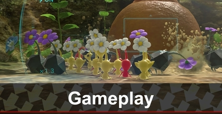 Pikmin 3: Gameplay