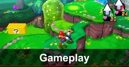 Mario & Luigi: Dream Team: Gameplay