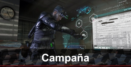 Tom Clancy´s Splinter Cell: Blacklist: Gameplay (campaña)